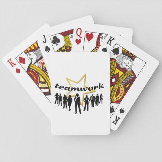 Teamwork Playing Cards