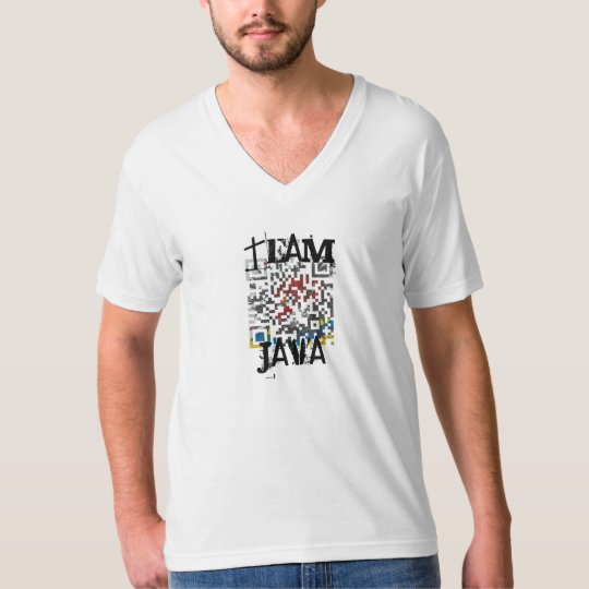 TeanJava T-shirt worn by Team Java members only