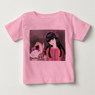 Teaparty Bunny Babies Pink Shirt
