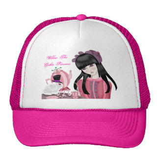 Teaparty Bunny Pink & White Cap Hats