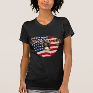 Teaparty Flag and Liberty Bell T-shirt
