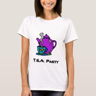 Teapot and Tea Party T-Shirt