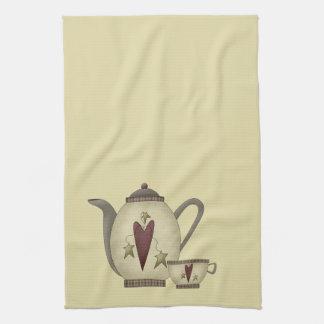 Teapot and Teacup Tea Towel