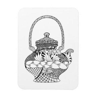 Teapot Doodle Magnet