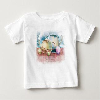Teapot Family for child 1 Baby T-Shirt