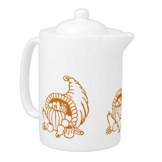 Teapot - Horn of Plenty