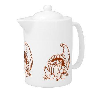 Teapot - Horn of Plenty (dark)