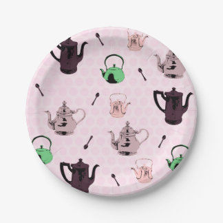Teapot Paper Plates 7 Inch Paper Plate