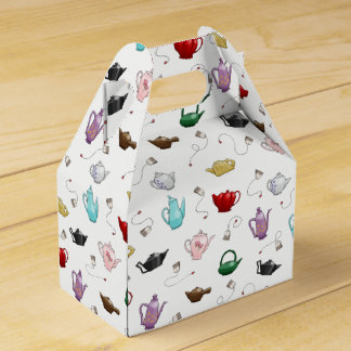 Teapot Pattern Gift Box