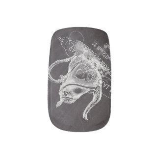 teapot vintage Chalkboard bridal shower tea party Minx ® Nail Wraps