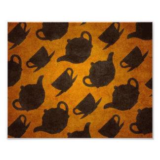 Teapots Cups Design Symbol Texture Pattern Photo Art