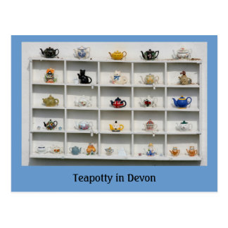 Teapotty in Devon Postcard