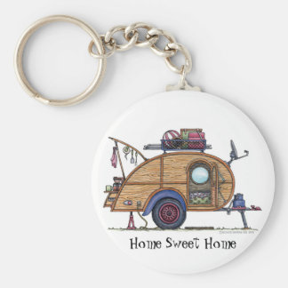 Tear Drop Camper Trailer RV Key Chains HSH
