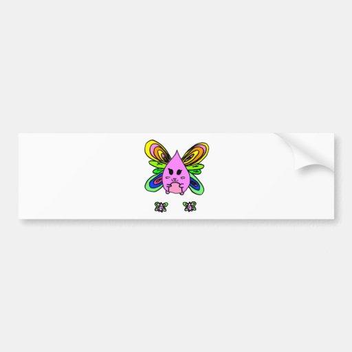 Teardrop Dragonfly Bumper Sticker