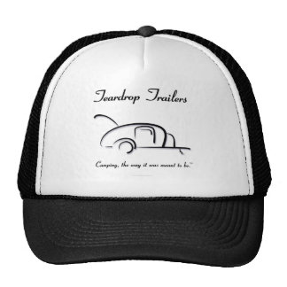 Teardrop Trailers Black Version Cap