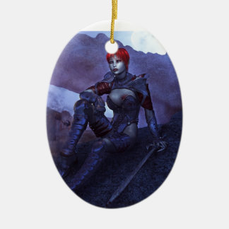 Tears of Blood Christmas Ornament