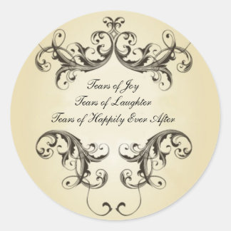 Tears of Joy Classic Round Sticker