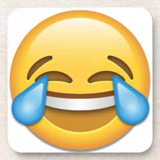 Tears of Joy emoji funny Coaster