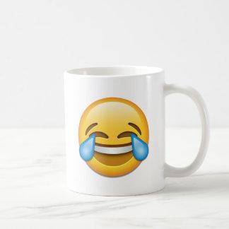 Tears of Joy emoji funny Coffee Mug