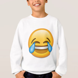 Tears of Joy emoji funny Sweatshirt