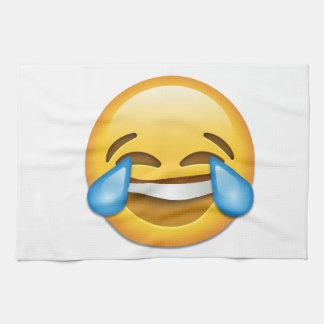 Tears of Joy emoji funny Towels