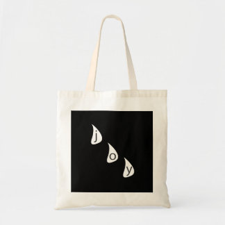 Tears of Joy Gothic Graphic Design Tote Bag