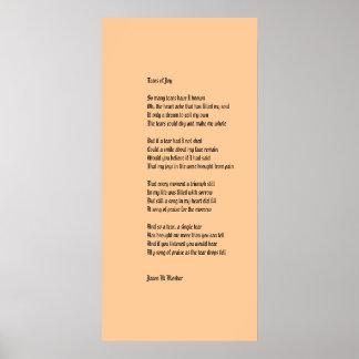 Tears Of Joy Print