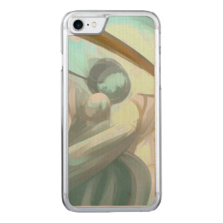 Teary Dreams Pastel Abstract Carved iPhone 7 Case