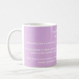 'Teas Of The World' mug - Darjeeling Tea