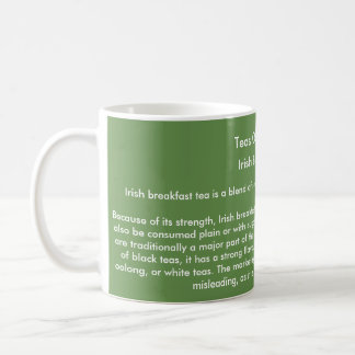 'Teas Of The World' mug - Irish Breakfast Tea