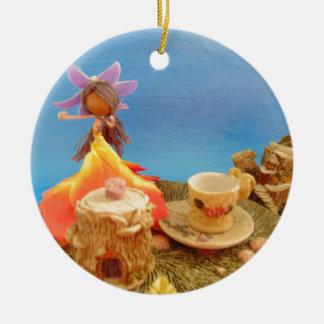 teas up.jpg round ceramic decoration