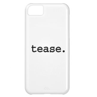 tease iPhone 5C cover