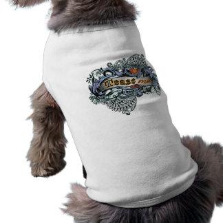 Tease Me Sleeveless Dog Shirt