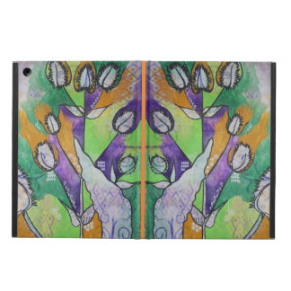 Teasel and Dock Leaf iPad Case