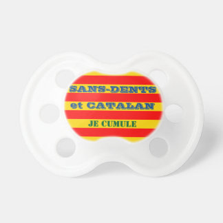 teat Catalan baby without-teeth, humour Dummy