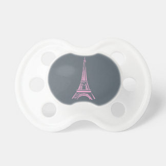 Teat Eiffel Tower Baby Pacifier