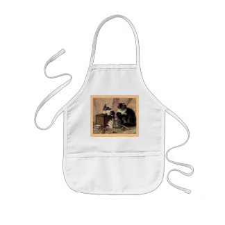Teatime_For_Kittens Kids Apron