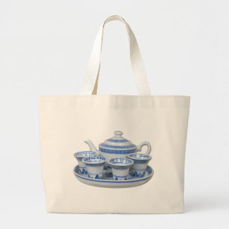 TeaTime Large Tote Bag