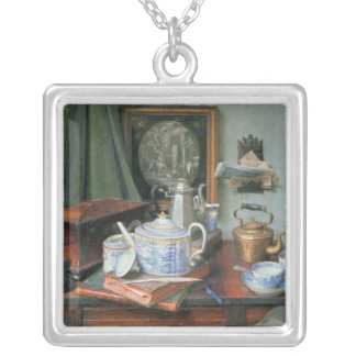 Teatime Silver Plated Necklace