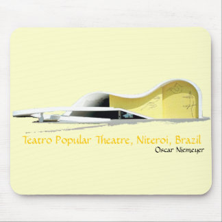 Teatro Popular Theatre, Niteroi, Brazil Mouse Pad