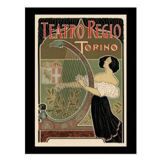 Teatro Regio Torino Postcard
