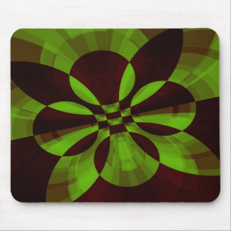 Tech Abstract Fractal Mousepad