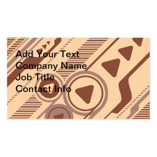 Tech Background Business Card Template