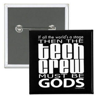 Tech Crew Gods 15 Cm Square Badge
