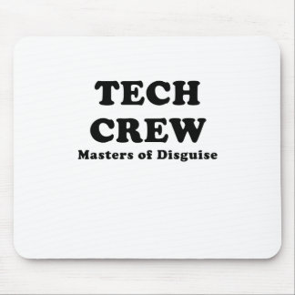 Tech Crew Masters of Disguise Mousepads