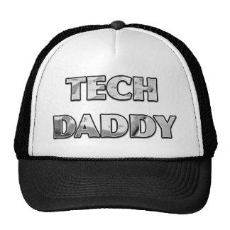 TECH DADDY Computer Keyboard Design Trucker Hat