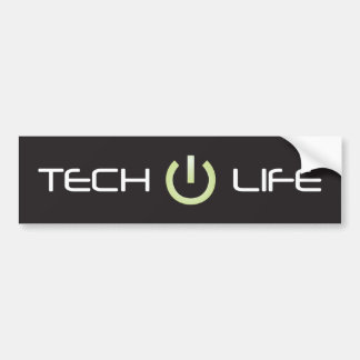 Tech Life Bumper Sticker