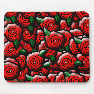 Tech Roses By Aliya Leigh Mouse Pad
