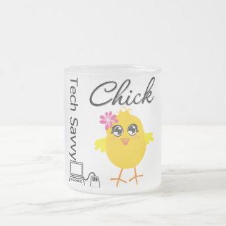 Tech Savvy Chick Mugs