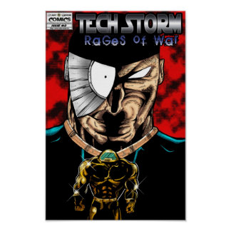TECH STORM: Rages Of War #2 (of 2) Poster